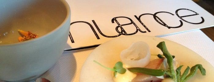 Restaurant Nuance is one of Gault Millau.