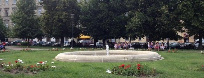 Arbesovo náměstí is one of StorefrontSticker #4sqCities: Prague.