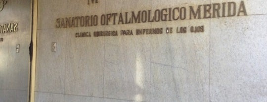 Sanatorio Oftalmologico Merida is one of Alejandroさんのお気に入りスポット.