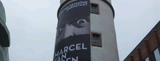 Weißer Turm is one of Darmstadt - must visit.