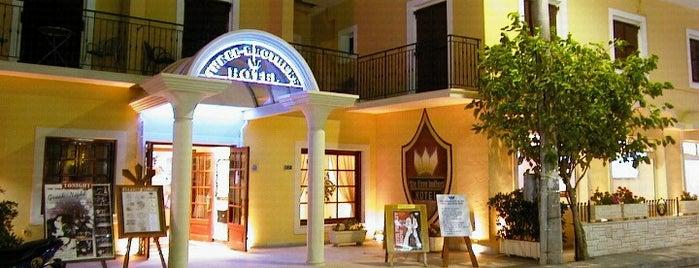 Three Brothers Hotel is one of Corfu 2018.