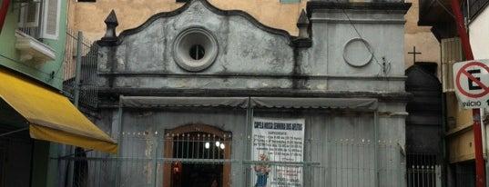 Capela Nossa Senhora dos Aflitos is one of Marcos arquitetônicos da cidade de São Paulo.