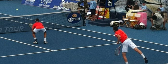 Delray Beach International Tennis Championships (ITC) is one of Local Treasures.
