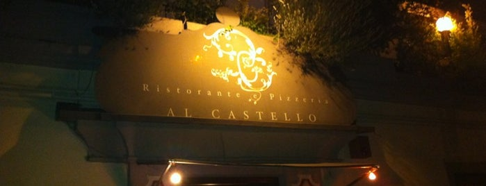 Al Castello is one of ristoranti - pizzerie.