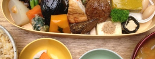 BROWN RICE CAFE & DELI is one of Tokyo GF.