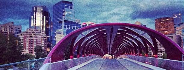 Peace Bridge is one of Alberta - Wild Rose Country.