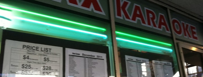 Max Karaoke Studio is one of Nancy's A.Kraus Places&Food's&	Ect... <3.