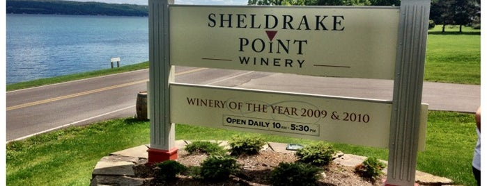 Sheldrake Point Winery is one of Lieux qui ont plu à Swen.
