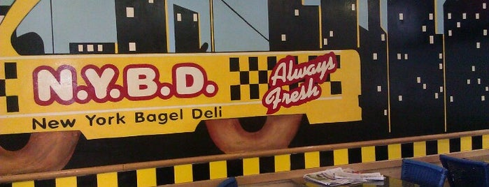New York Bagel Deli is one of Florida.