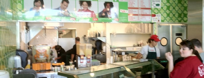 Maoz Vegetarian is one of Austin Restaurants to Visit.