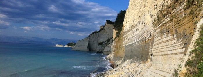 Loggas Beach is one of Corfu, Greece.