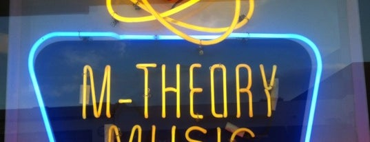 M-Theory Music is one of San Diego's 59-Mile Scenic Drive.