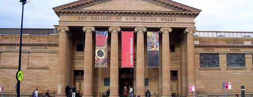 Art Gallery of New South Wales is one of Australia - Sydney.