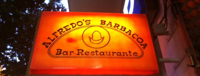 Alfredo's Barbacoa is one of All American Life in Madrid.