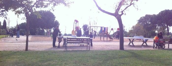 Parc de Cervantes is one of La otra Barcelona.