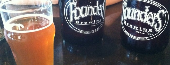Founders Brewing Co. is one of Best US Breweries--Brewery Bucket List.