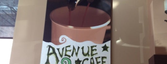 Avenue Coffee House is one of Queen's Best Coffee by Subway Stop.