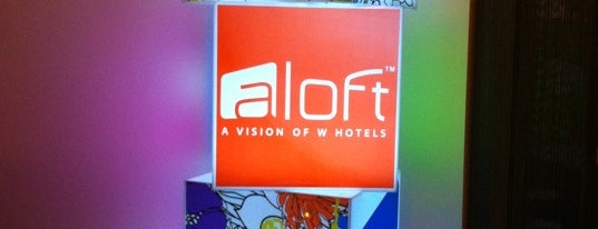 Aloft Harlem is one of Lieux qui ont plu à Nikki.