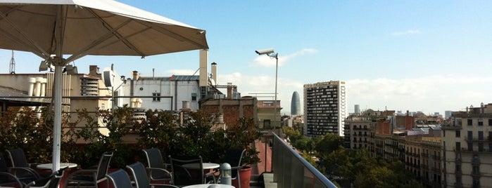 Silken Gran Havana Barcelona is one of Terrazas Barcelona.