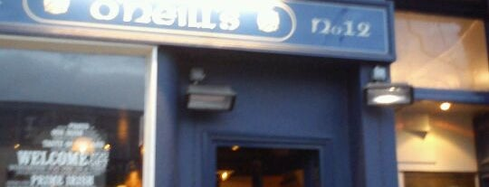 O'Neill's is one of Cask Marque Pubs 02.