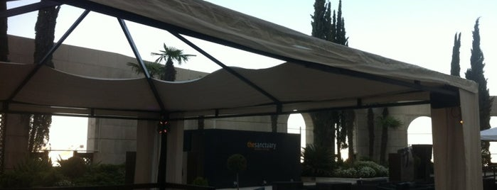 The Sanctuary Outdoor Lounge is one of Amman.