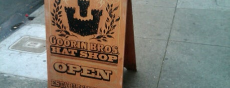 20a71aebbe186 Goorin Bros. Hat Shop - Corporate Headquarters is one of The San  Franciscans  Retail