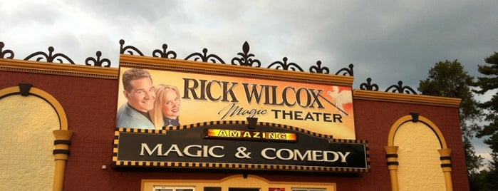 Rick Wilcox Magic Theater is one of 20 Fun Things to do in Wisconsin Dells, WI.