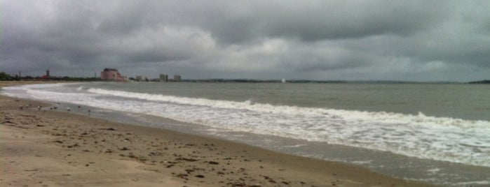 Revere Beach is one of Massachusetts.