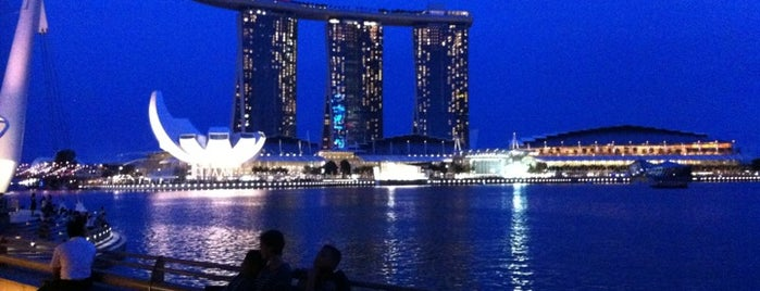 Marina Bay Sands Hotel is one of wonders of the world.