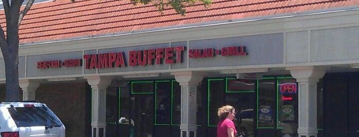 Tampa Buffet is one of สถานที่ที่ Clarissa ถูกใจ.