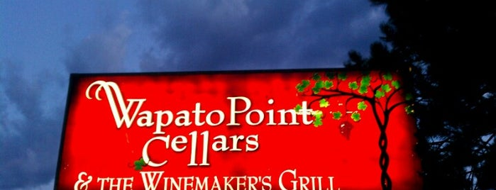 Wapato Point Cellars is one of Lieux qui ont plu à Rob.