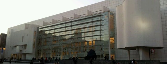 Museu d'Art Contemporani de Barcelona (MACBA) is one of Barcelona bucket list.
