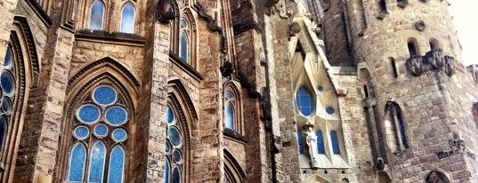 Sagrada Família is one of Spain.