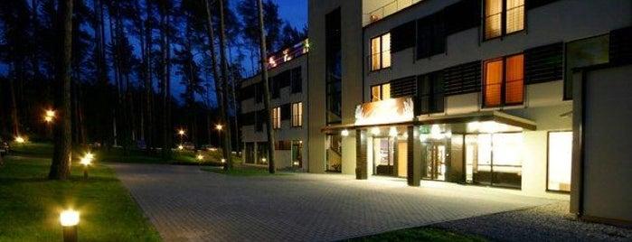 Hotel Baltvilla is one of AtputasBazes.lv.