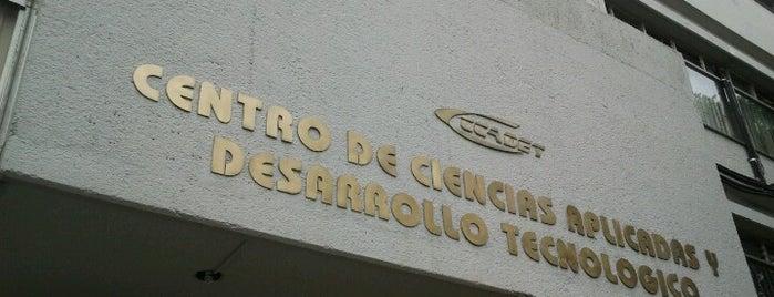 CCADET   UNAM is one of สถานที่ที่ Yosh ถูกใจ.