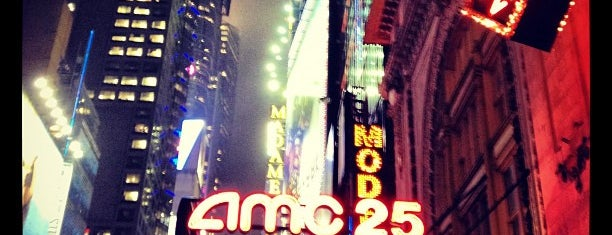 AMC Empire 25 is one of NYC.