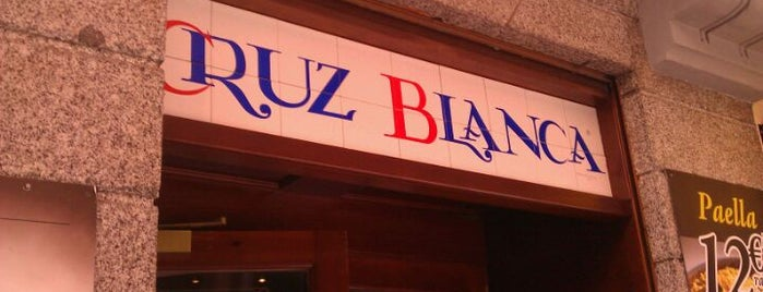 Cervecería Cruz Blanca is one of Eat at work (around Gran Vía).