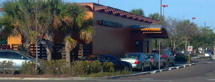 Starbucks is one of AT&T Spotlight on Tampa Bay, FL.