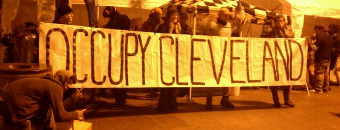 #OccupyCleveland is one of #OccupyAmerica Locations.