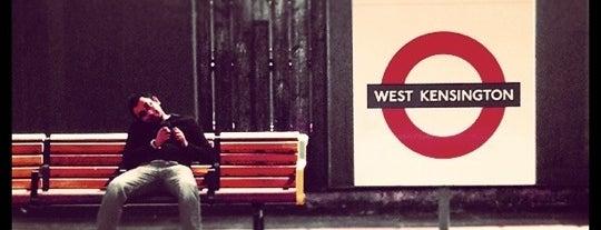 West Kensington London Underground Station is one of Underground Stations in London.