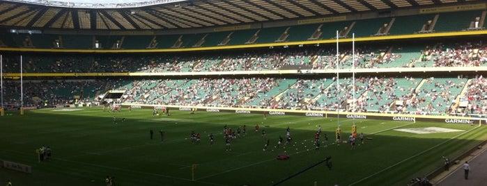 Twickenham Stadium is one of Best Sporting Venues in London.