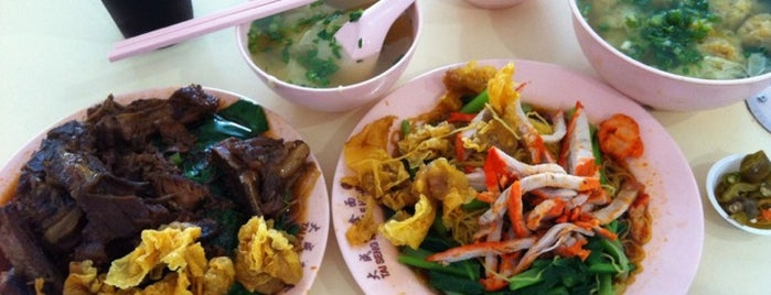 Amoy Street Food Centre is one of Micheenli Guide: Best of Singapore Hawker Food.