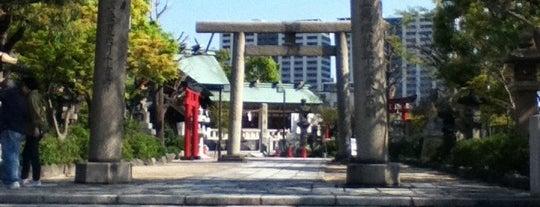 石濱神社 (石浜神社) is one of 浅草七福神めぐり.
