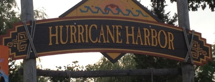Six Flags Hurricane Harbor is one of Stuff....