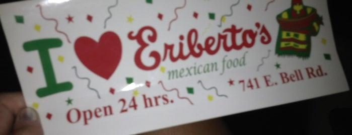 Eriberto's Mexican Food is one of Restaurants.