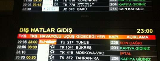 Gate 302 is one of İstanbul Atatürk Airport.