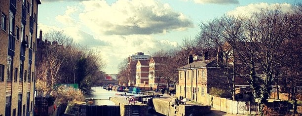 Hackney Canal is one of London.