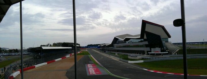 Silverstone Circuit is one of Formula 1 Tracks.