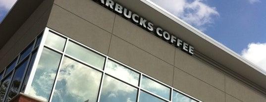 Starbucks is one of Gespeicherte Orte von Ronald.