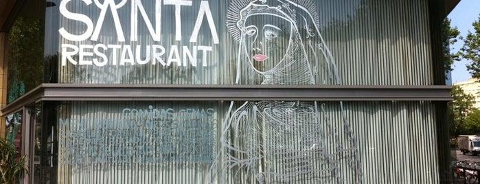 Santa Restaurant is one of Restaurants col·laboradors 2011.